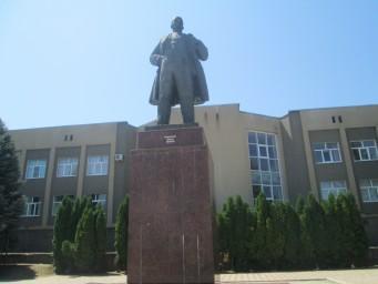 памятник В.И.Ленину, установлен в 1984 г.